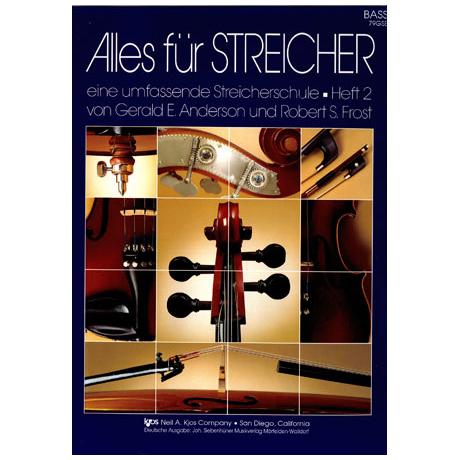Alles für Streicher - Schule Heft 2