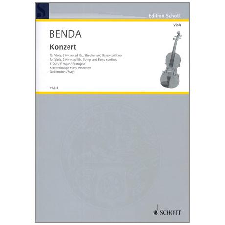 Benda, W. H.: Violakonzert F-Dur