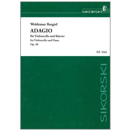 Bargiel, W.: Adagio für Violoncello und Orchester Op. 38
