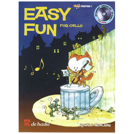Moelker, R.: Easy Fun for Cello (+CD)