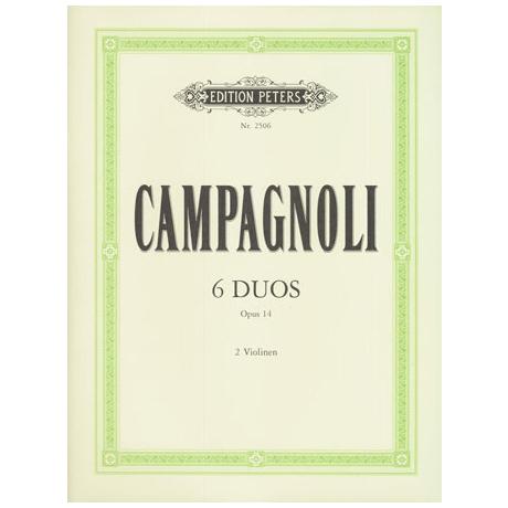 Campagnoli, B.: 6 fortschreitende Duette Op. 14