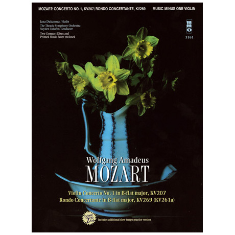 Mozart, W.A.: Violin Concerto No.1 B major (+2CDs)
