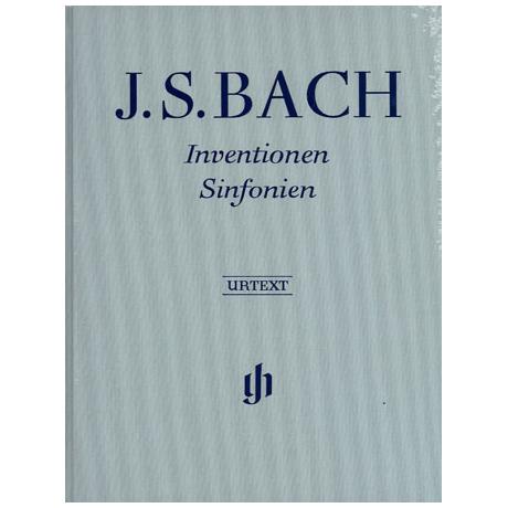 Bach, J. S.: Inventionen und Sinfonien BWV 772 – 801