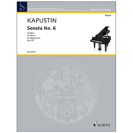 Kapustin, N.: Klaviersonate Nr. 6 Op. 62