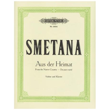 Smetana, B.: Aus der Heimat