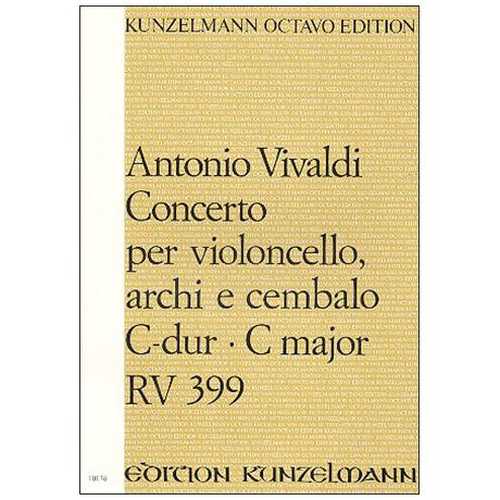 Vivaldi, A.: Violoncellokonzert RV 399 C-Dur – Partitur