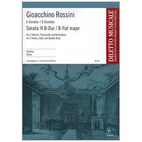 Rossini, G.A.: Sonate Nr.4 B-Dur