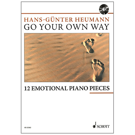 Heumann, H.-G.: Go Your Own Way – 12 Emotional Piano Pieces