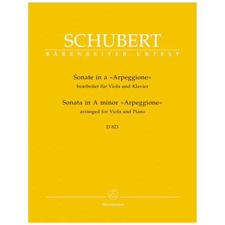 Schubert, F.: Violasonate »a 'Arpeggione'« D 821