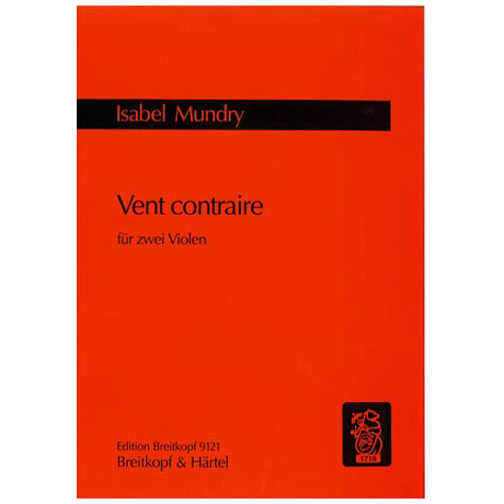 Marbe, M.: Vent contraire für 2 Violen (1999)