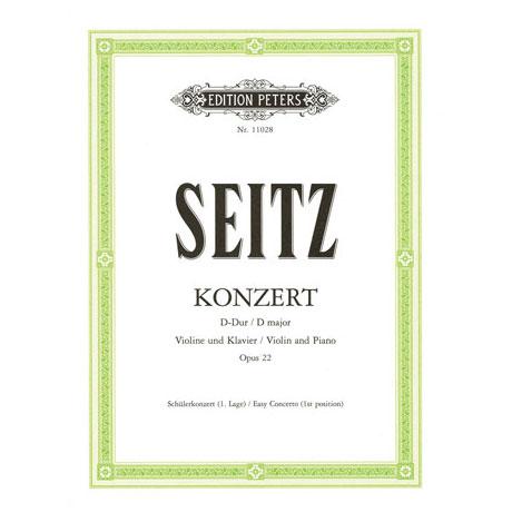 Seitz, F.: Violinkonzert Op. 22 D-Dur