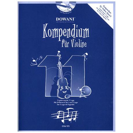 Kompendium für Violine – Band 11 (+ 2 CD's)