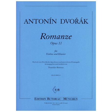 Dvořák, A.: Romanze Op. 11 f-Moll