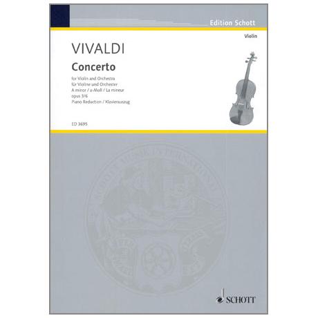 Vivaldi, A.: L'Estro Armonico Nr. 6 Op. 3 a-Moll