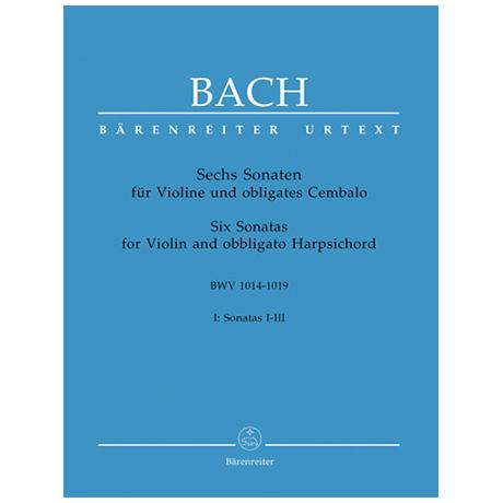 Bach, J.S.: Sechs Sonaten - Band 1: BWV 1014 - 1019