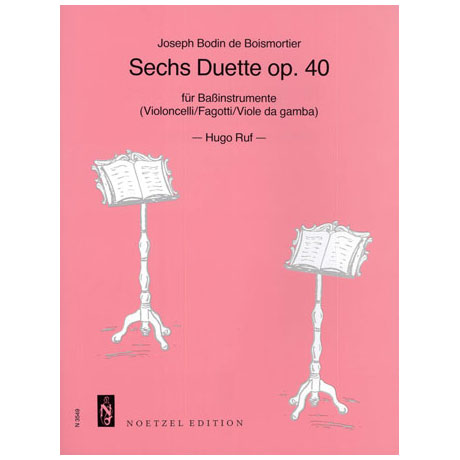 Boismortier, J. B. d.: 6 Duette Op. 40
