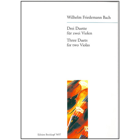 Bach, W.Fr.: Drei Duette