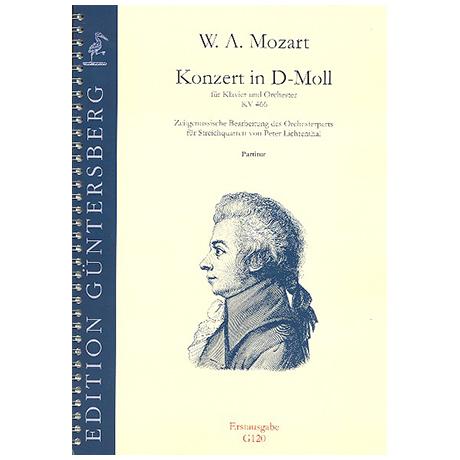 Mozart, W. A.: Konzert für Klavier und Orchester KV 466 d-Moll