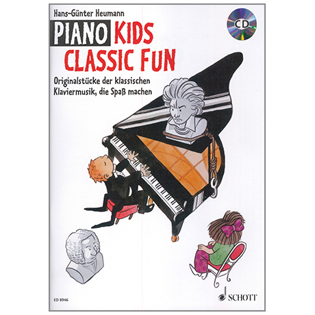 Heumann, H.-G.: Piano Kids Classic Fun (+CD)