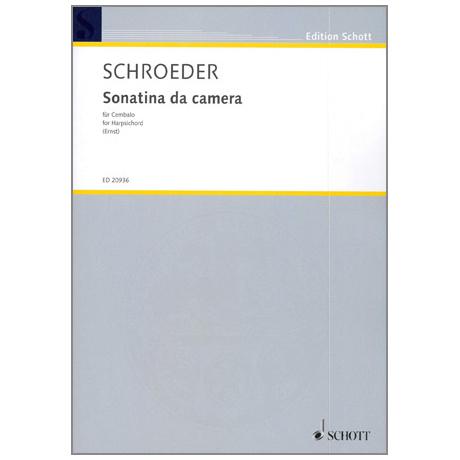 Schroeder, H.: Sonatina da camera