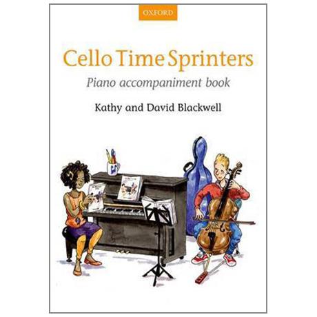 Blackwell, K. & D.: Cello Time Sprinters – Klavierbegleitung