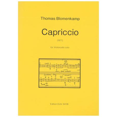 Blomenkamp, T.: Capriccio (1977)