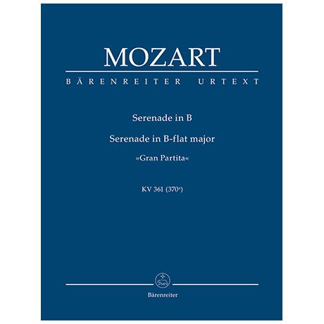 Mozart, W. A.: Serenade B-Dur KV 361 (370a) »Gran Partita«