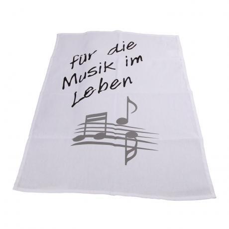 Geschirrtuch MUSIC
