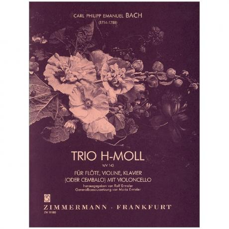 Bach, C. Ph. E.: Triosonate WV 143 h-Moll