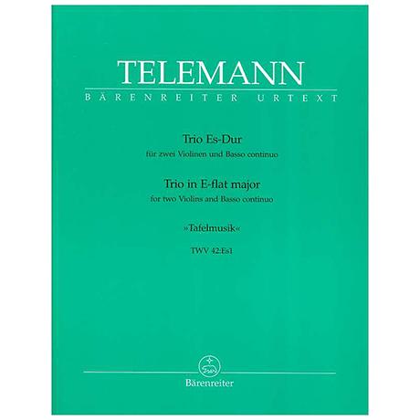 Telemann, G. Ph.: Trio-Sonate Es-Dur TWV 42:Es1
