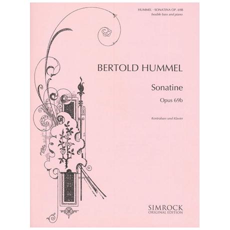 Hummel, B.: Kontrabasssonatine Op. 69b