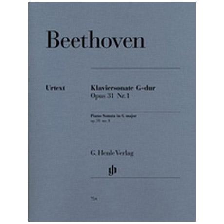Beethoven, L. v.: Klaviersonate Nr. 16 G-Dur Op. 31,1