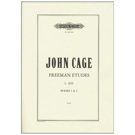 Cage, J.: Freeman Etudes Books 1-2 (Nr.1-16)