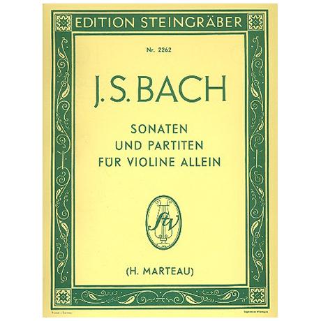 Bach, J.S.: Sonaten und Partiten für Violine allein