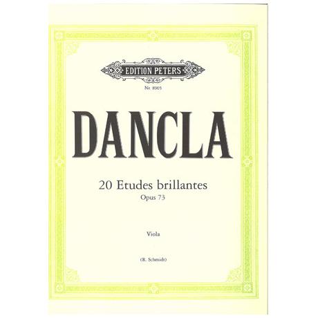 Dancla: 20 Etudes brillantes op. 73