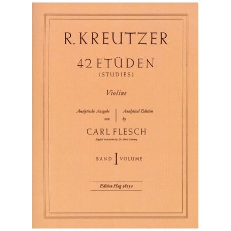 Kreutzer, R.: 42 Etüden Band 1