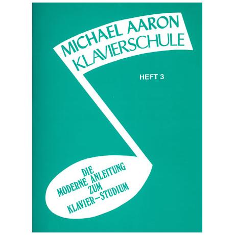 Michael Aaron Klavierschule Heft 3