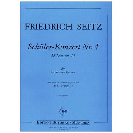 Seitz, F.: Schülerkonzert Nr. 4 in D-Dur op. 15