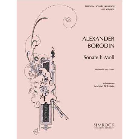 Borodin, A.: Violoncellosonate h-Moll