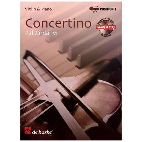 Járdányi, P.: Concertino (+CD)
