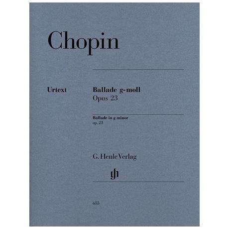 Chopin, F.: Ballade g-Moll Op. 23