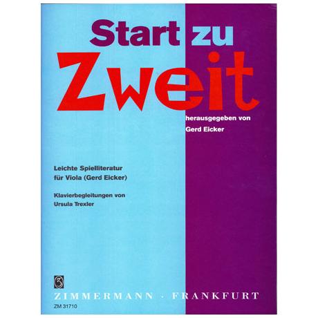 Start zu Zweit - leichte Unterrichtsliteratur