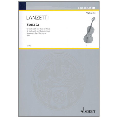 Lanzetti, S.: Sonate Op. 1/1 G-Dur
