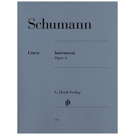 Schumann, R.: Intermezzi Op. 4