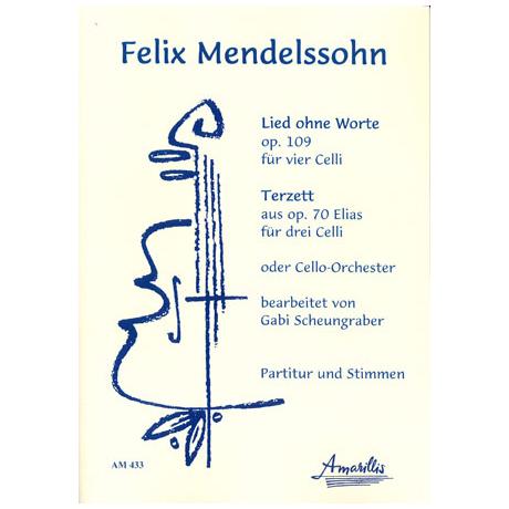 Mendelssohn Bartholdy, F.: Lied ohne Worte und Terzett