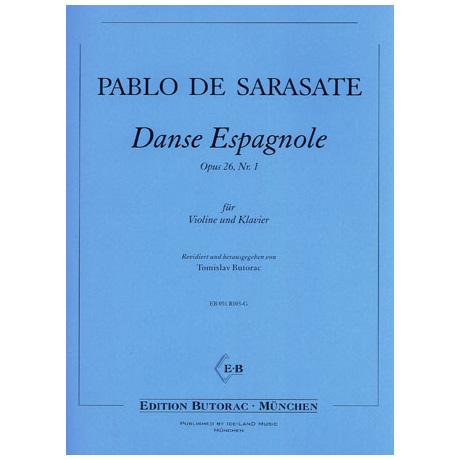 Sarasate, P. d.: Danse espagnole Op. 26/1