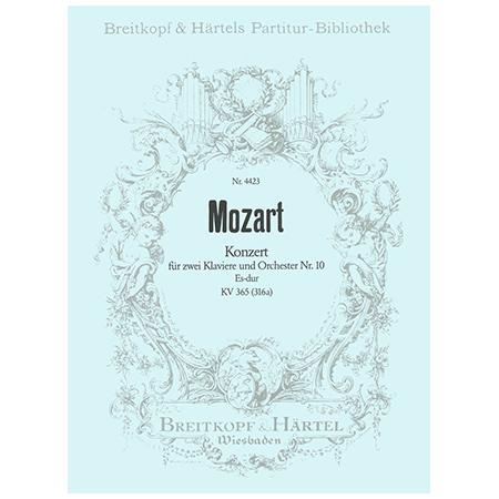 Mozart, W. A.: Klavierkonzert Nr. 10 Es-Dur KV 365 (316a)