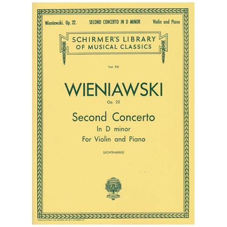 Wieniawski, H.: Konzert Nr. 2 Op. 22 d-Moll