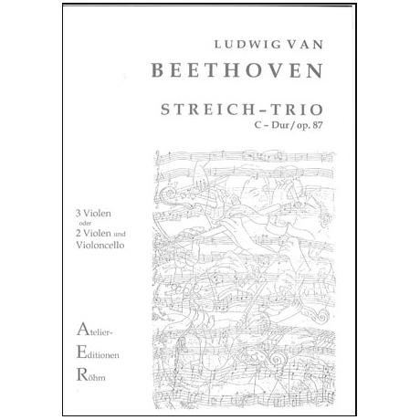 Beethoven, L.v.: Trio in D - Dur Op. 87