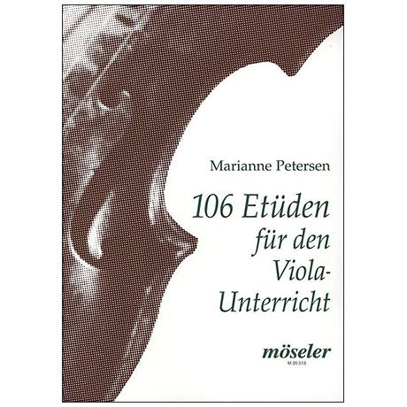 Petersen, M.: 106 Etüden für den Violaunterricht